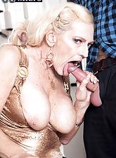 68-year-old grandma Layla's prime porno!